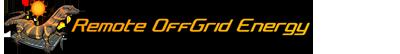 Remote Off Grid Energy Logo